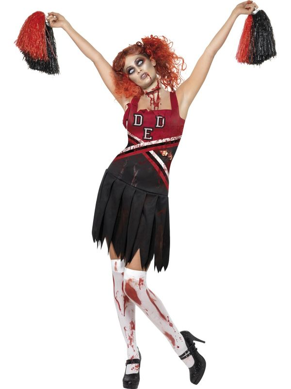 Halloween-cheerleader
